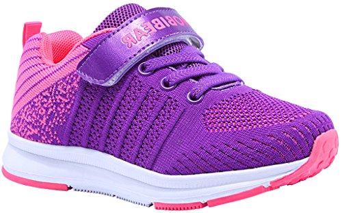 Gaatpot sneaker basse ragazzi ragazze scarpe da ginnastica running sportive trainers tennis unisex - bambini rosa 28 eu = 29 cn
