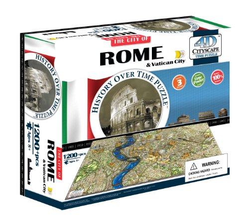 4D Cityscape 40042 - Rome Puzzle