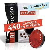 Caffè Biespresso - Miscela Classica - Confezione da 400 pezzi capsule + 40 capsule in omaggio - Compatibile Lavazza A Modo Mio