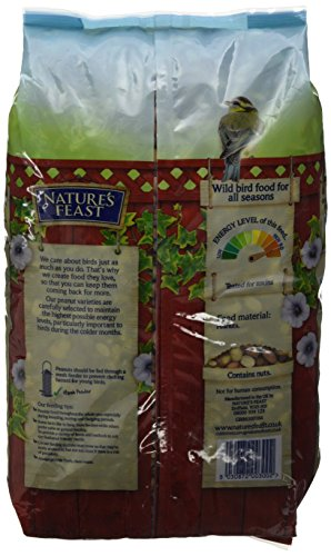 Nature's Feast High Energy Peanuts For Wild Birds, 5 kg 2