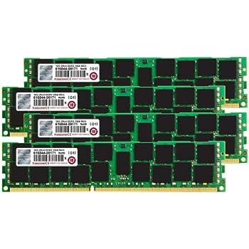 Transcend TS64GJMA535Z JetMemory - Kit de Memoria RAM de 64 GB para Apple MacPro 2013 (DDR3 SDRAM, 1866 MHz, ECC, CL13, 4 x 16 GB)