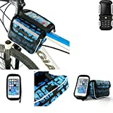 Fahrrad Rahmentasche für Jiayu F2, Fahrradhalterung