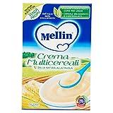 Mellin Crema Multicereali, Indicato per Infanti dal 4 Mese - 200 gr