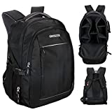 Cosmus Horizon DSLR Camera Backpack Bag with Laptop Compartment & well padded adjustable grids for Lenses