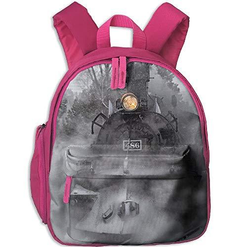 Kindergarten Boys Girls Backpack Winter Train School Bag