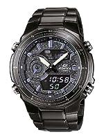 Reloj de caballero CASIO Edifice EFA-131BK-1AVEF de cuarzo, correa de acero inoxidable color negro (con alarma, luz, cronómetro) de Casio