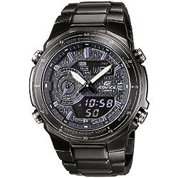Casio Reloj Analógico/Digital de Cuarzo para Hombre con Correa de Acero Inoxidable – EFA-131BK-1AVEF