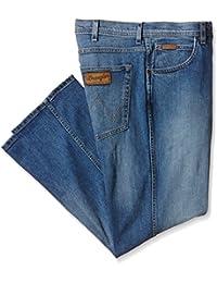 Wrangler Herren Straight (gerades Bein) Jeans, Arizona Stretch