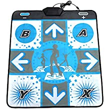 Cewaal Alfombrilla antideslizante DDR Dance Mat Cojín cojín Stage Para Nintendo Wii GameCube NGC