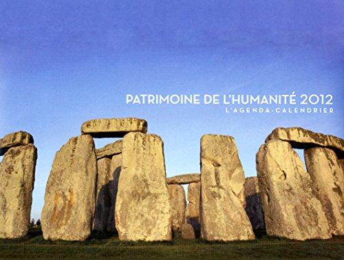 AGENDA CALENDRIER PATRIMOINE DE L'HUMANITE 2012