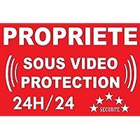 Panneau propriété sous vidéo protection 24/24