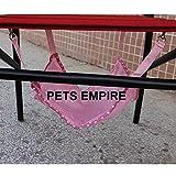 #4: Pets Empire Summer Cat Hammock Breathable Mesh Pet Hammock Rat Cage Hanging Bed Kitten Crib Cozy -1 Piece (Color May Vary)
