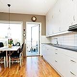 d-c-fix, Türfolie, Design Whitewood, selbstklebend, 90 x 210 cm