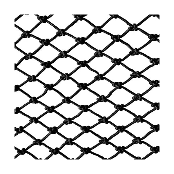 Black Child safety net protective net balcony stairs anti-fall net kindergarten color decorative net fence network Width 1/4M Length 1M /9M Hand braided traditional structure (Size : 4 * 5m)  [Protect children's safety]: Many children fall from the building, let us understand that the safety of children can not be ignored. [Polyester knotless woven mesh]: The mesh surface has large pulling force, and the double needle has no knot woven mesh hole, so that the mesh has stronger impact resistance. [wire diameter 6MM, mesh spacing 4CM]: Escort for baby safety.(Others available in our shop) 1