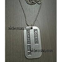 Logan, collana medaglietta piast