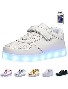 KEALUX Brillante Noche USB Cargando 7 Colores ATA Para Arriba Encender LED Zapatos Baja Arriba Zapatillas Deportivas...