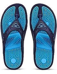Redx Blue Accupressure Relax-2 Blue Slipper & Flip Flops