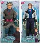 Disney Frozen - Gefrorene Hans & Kristoff Klassische Puppe Set