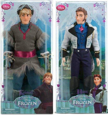 Elsa Und Sammlung Puppen Anna (Disney Frozen - Gefrorene Hans & Kristoff Klassische Puppe Set)