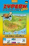 Zypern Die erste Karte der Insel für Kids, Landkarte und Reiseführer für Kinder: Attraktionen, Unternehmungen, Insider-Tipps, Regenwetter-Tipps -