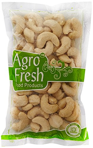 Agro Fresh Whole Cashewnut, W 320, 100g