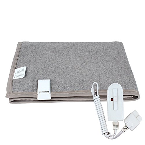 Winter Care Electric Under Blanket for Single Bed (Grey 30 X 60 Inches)