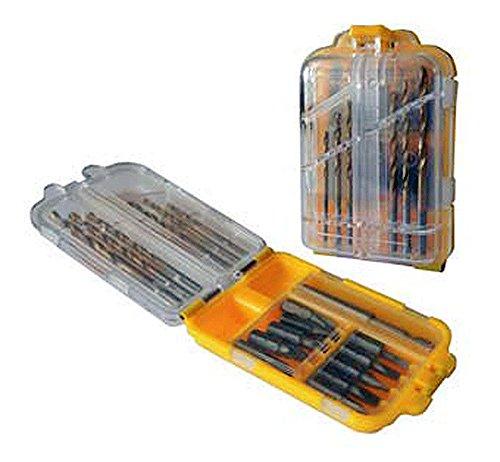 Mistral–17PZ Bitsortiment CRV 25mm Tasche mit Clip Befestigung Gürtel (Clip-schraubendreher-set Tasche)
