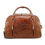 LYDC Designer Charming Reisetasche mit verstellbarem Griff und Schlitz vorne mit verdeckter...