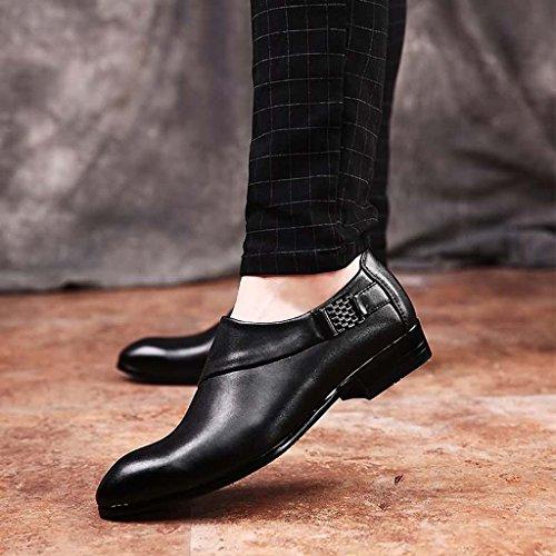 ZXCV Scarpe all'aperto Scarpe casual all'aperto degli uomini un pedale pigro scarpe da uomo Nero