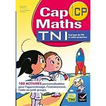 Cap Maths CP, 160 activités pour TNI - CD Rom