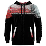 Blowhammer - Sudaderas con Capucha Hombre - Chipped Red ZH