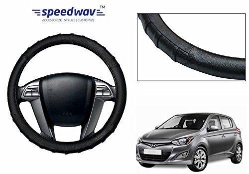 speedwav grippy sc106m leatherette car steering cover black m-hyundai i20 Speedwav Grippy SC106M Leatherette Car Steering Cover Black M-Hyundai i20 51xuPmWvesL