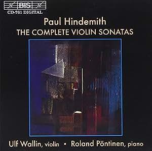 Hindemith - Violin Sonatas