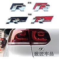 WARDE El estándar de China Grid R estándar de Rline se Aplica al Nuevo Polo Polo Lingdu Langyi Longxing CC High 6 Volkswagen Modificado Pegatinas de automóviles