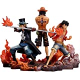 Siyushop Figurine DXF One Piece, Brotherhood II, Ensemble de 3