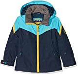 Ziener Kinder Amatie Jun (Jacket Ski) Skijacke, Navy Animal, 128