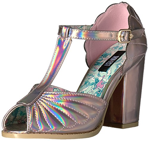 Iron Fist - Mother Of Pearls Heel, Scarpe con plateau Donna Pink (Pink)