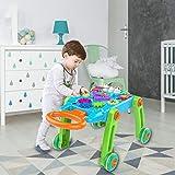 cuckoo-X Baby Walker Trolley Spielzeug Walker Learning Multifunktional Frühlehrtisch Kleinkind Geschenk