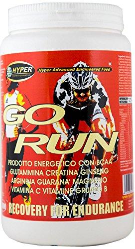 Hyper hypgorun1000 go run integratore energetico specifico sport faticosi, 1000 gr.