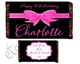 Eternal Design Personalised Birthday Chocolate Bar Wrapper...