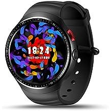 Smart Watch, Hizek Touchscreen da 1,39 Pollici Senza Fili Impermeabile Orologio da Polso con Supporto per Fotocamera Slot per Scheda SIM per Android e iOS iPhone Samsung LG
