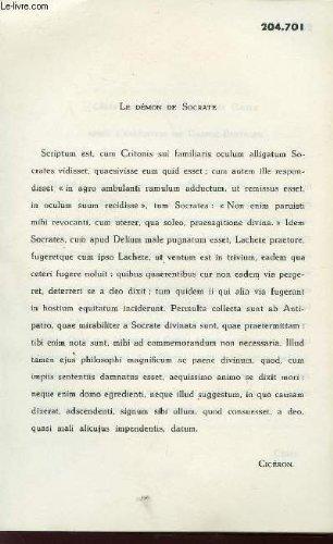 FICHES - VERSIONS LATINES - CICERON - SUETONE - VALRE-MAXIME - APULEE - PLINE LE JEUNESENEQUE ....