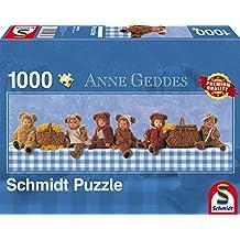Schmidt Spiele Puzzle per Adulto: Il Pic-Nic degli Orsetti, 1000 pezzi