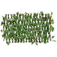 KX-YF Niños Chaqueta Impermeable Ampliable Artificial de imitación de Hoja de Hiedra Paneles de Cobertura en el Rodillo de jardín Valla de Pantalla Decoración Verde Chubasquero