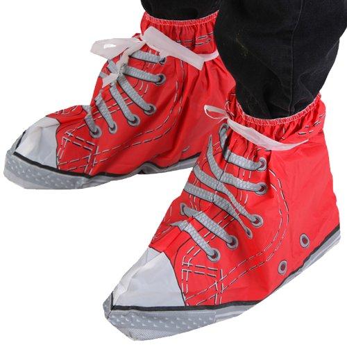 Preisvergleich Produktbild Festival Feet Schuhe - Schuhüberzieher in rot