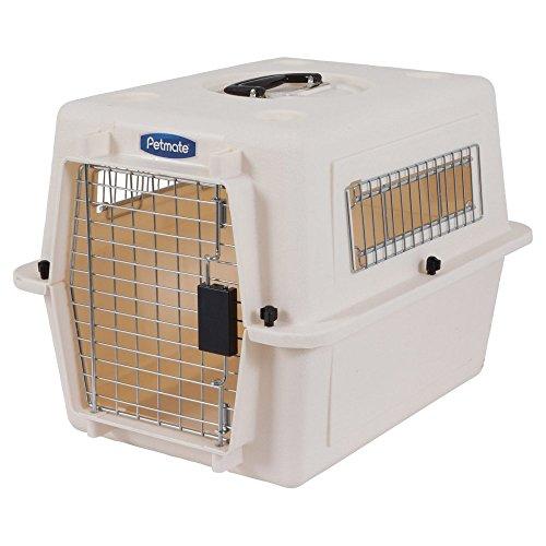 PETMATE Vari Kennel–XSmall, 21x16x15, Weiß (Kunststoff-trainings-kennel)
