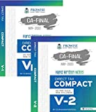COMPACT A Handwritten Book for CA Final Direct Tax Including case laws and 1000 MCQ (Set of 2 Volume) Old and New Syllabus Applicable For May 2020 Exam