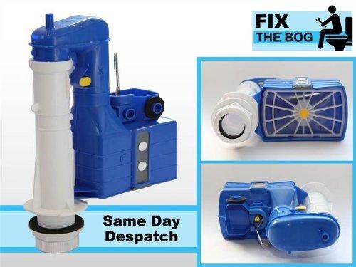 DUDLEY Turbo 8819,1cm 2Teil Dual Flush Siphon WC Spülkasten DIY WC-Reparatur -