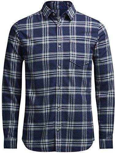 Jack & Jones Men's Jorlarson Ls Casual Shirt