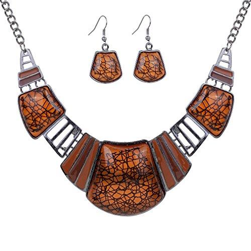 yazilind-vendimiae-collar-etnico-tibetano-de-la-astilla-de-brown-de-la-turquesa-pendientes-collar-ba